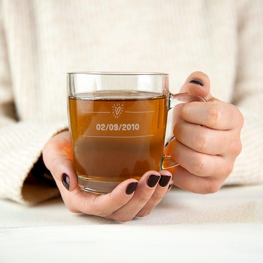 Tazze Da Te Personalizzate tazza da tè - vetro
