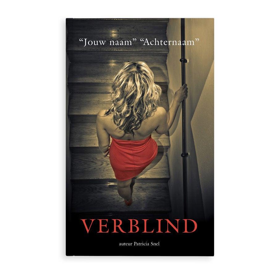 Boek met naam - Verblind - Softcover