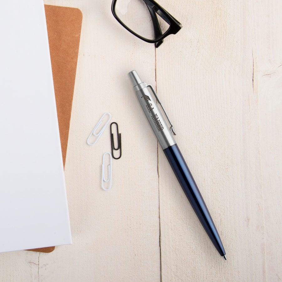Individuellbesonders - Parker Jotter Kugelschreiber Linkshänder (Blau) - Onlineshop YourSurprise