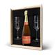 Coffret Champagne Piper Heidsieck Brut (750 ml) avec 2 flûtes gravées