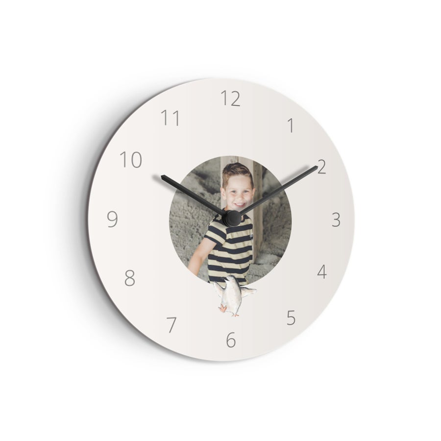 Lasten kello - Medium - Pyöreä (kovalevy)