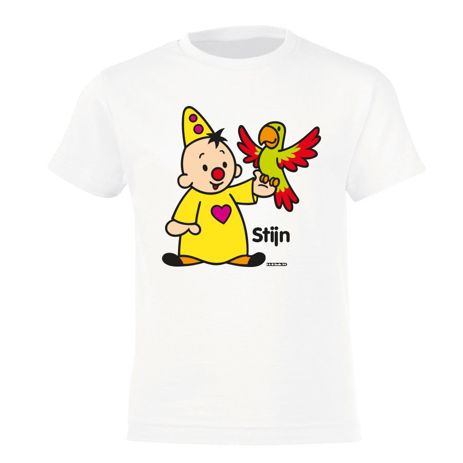 Bumba T-shirt - Kids - Wit - 4 jaar