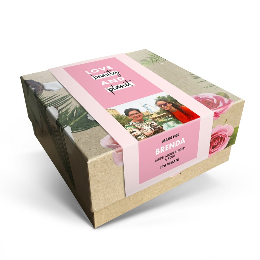 Love, Beauty & Planet geschenkset maken - Muru Muru Butter & Rose