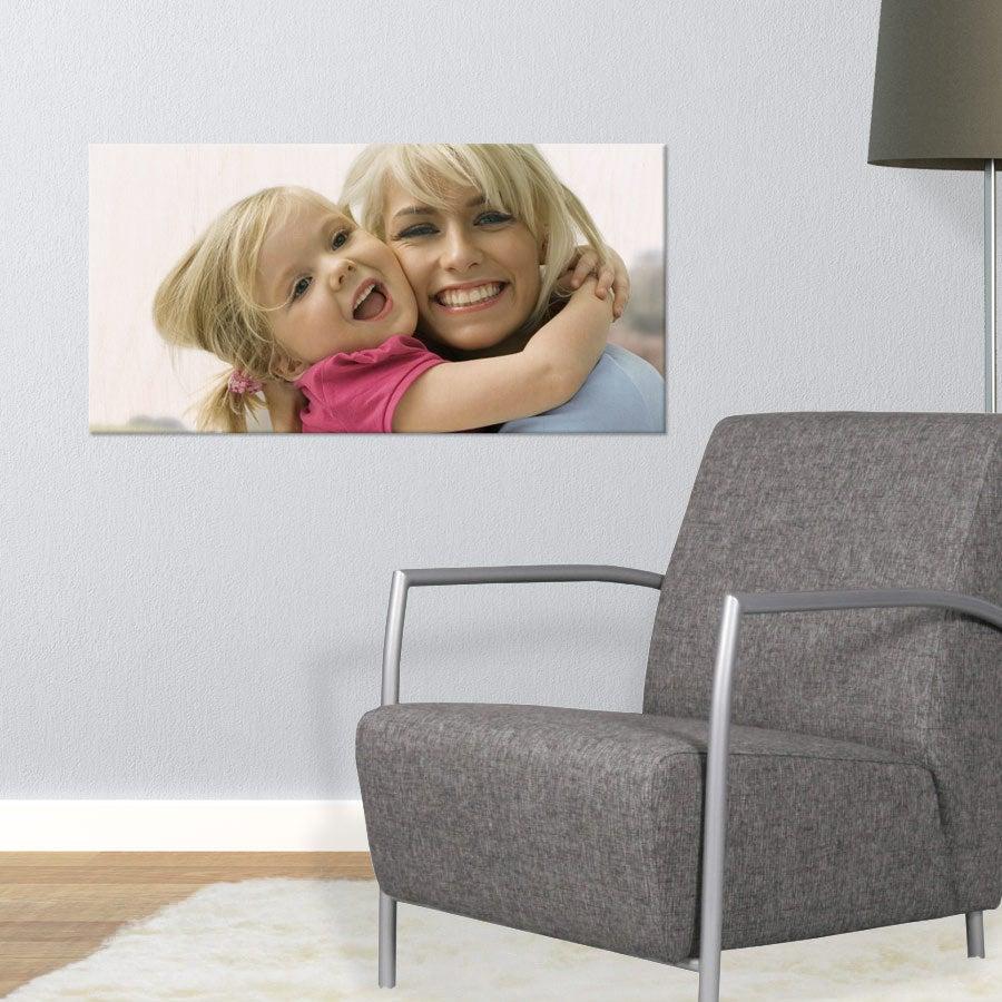 Puinen valokuvataulu (80x40cm)