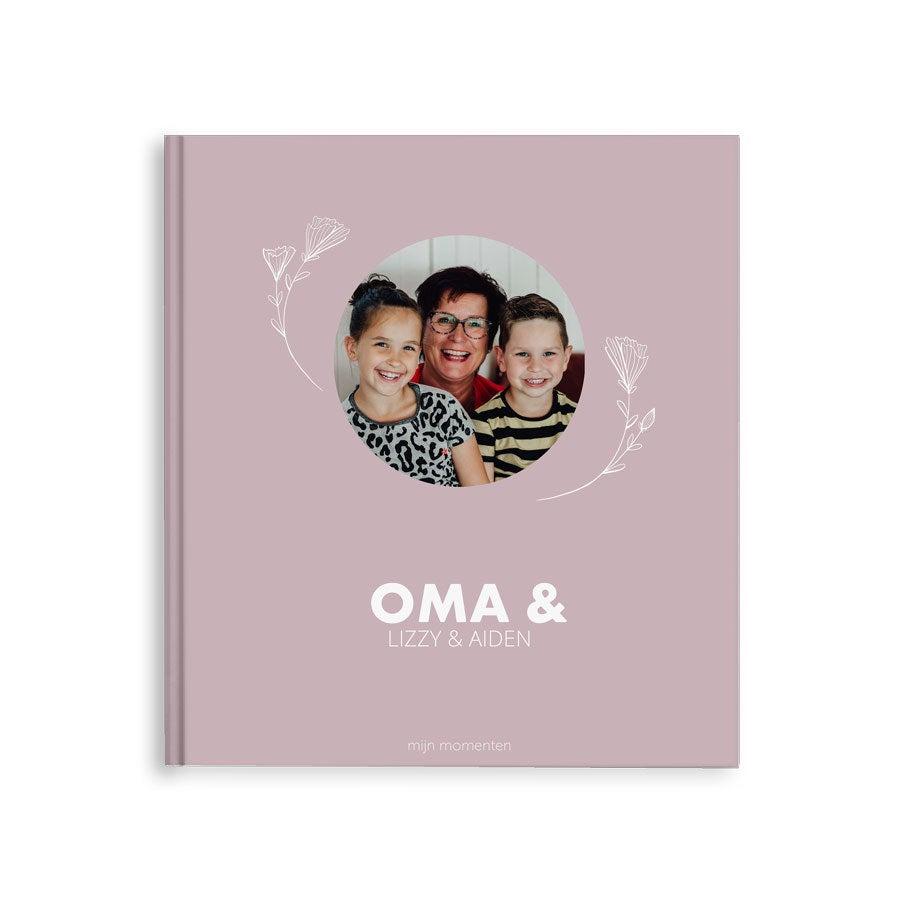 Momenten fotoboek maken - Oma & ik/wij - M - Hardcover - 40 pagina's