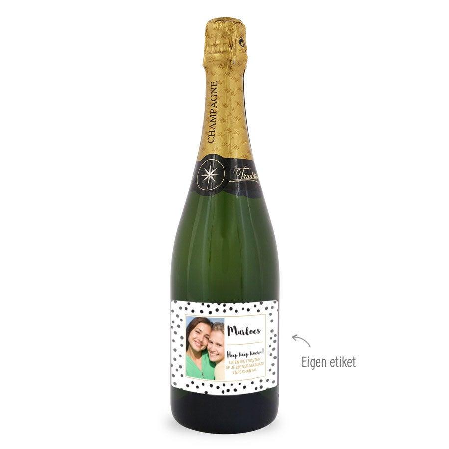 Champagne –  Baron Fuenté Brut – Met etiket
