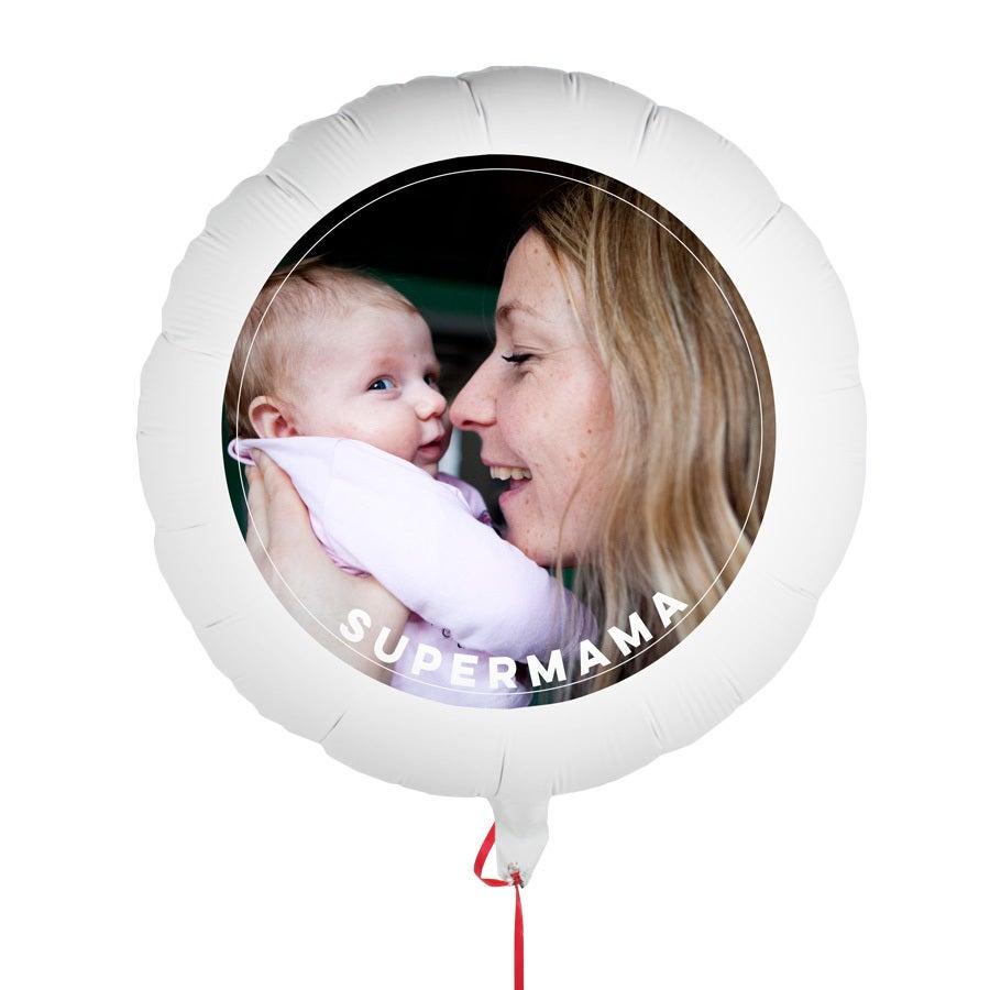 Ballons bedrucken - Muttertag