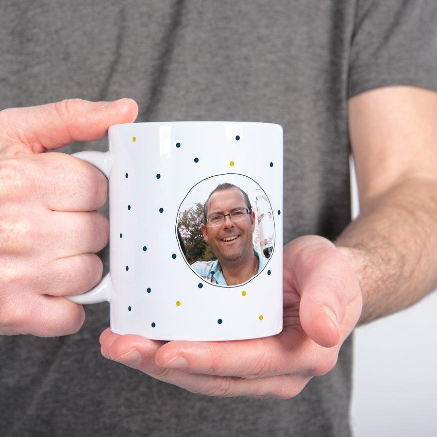 Lehrer Tasse mit Foto - Weiß