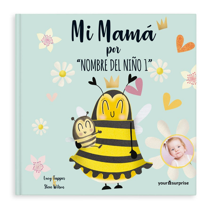 Libro Nuestra mamá  - Tapa dura