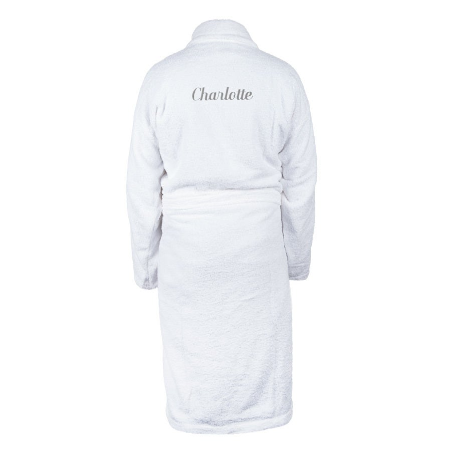 Bathrobe for Women - White L/XL