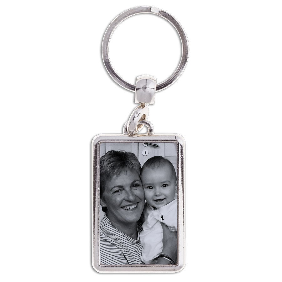 Porte-clé mamie - Rectangulaire