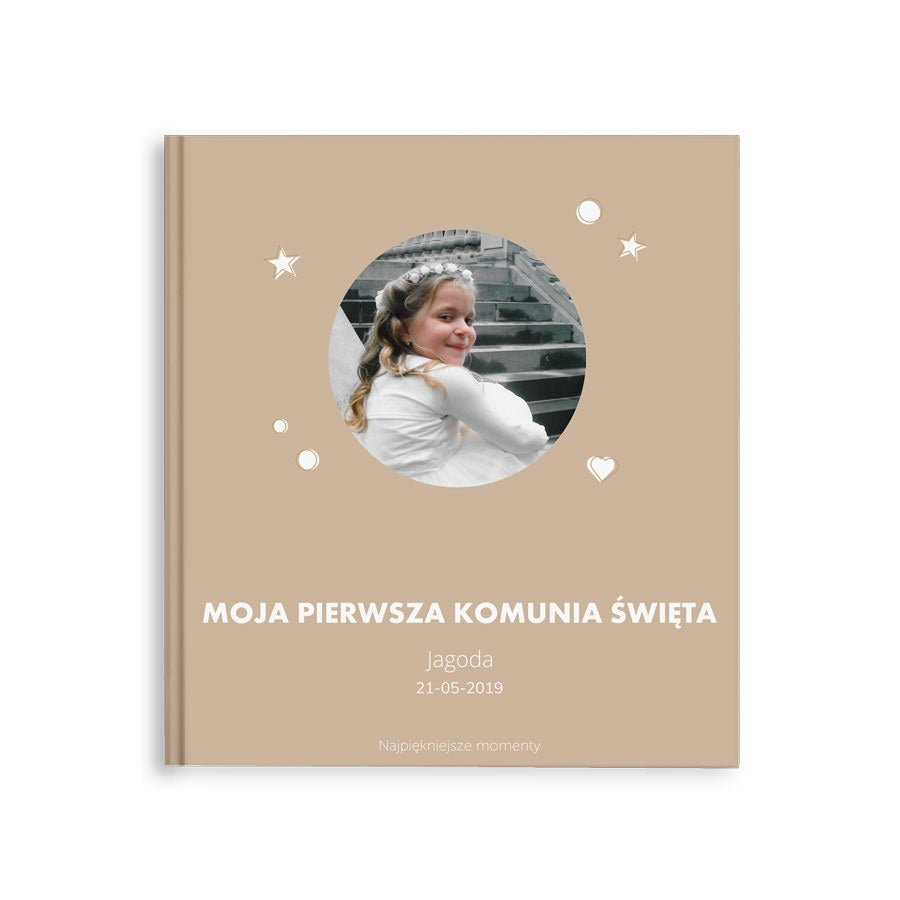 Fotoksiążka - Moja Pierwsza Komunia - M - Twarda okładka -40