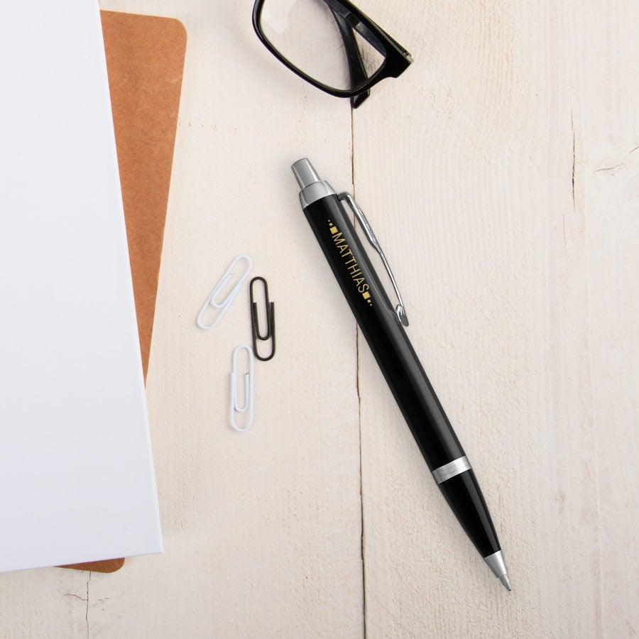 Individuellbesonders - Parker IM Kugelschreiber Linkshänder (Schwarz) - Onlineshop YourSurprise