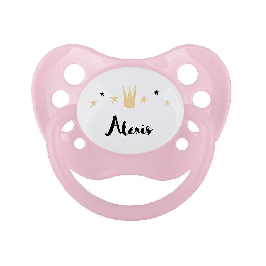 Chupones para bebé - rosa