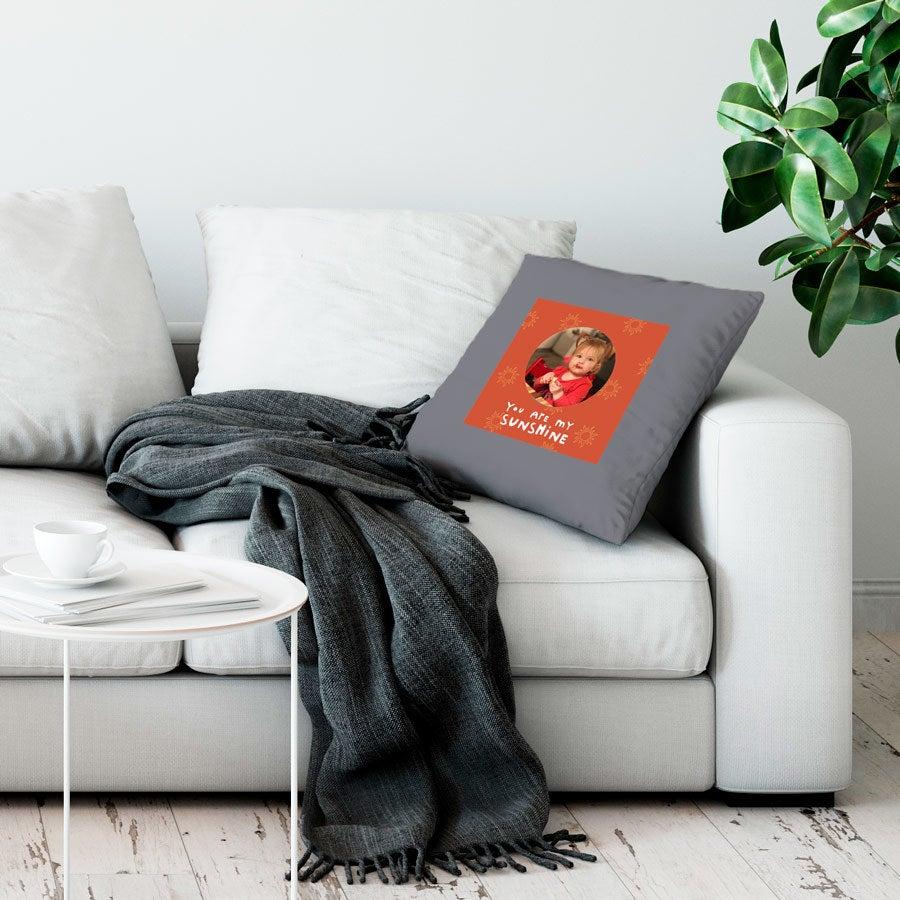 Love Throw-tyyny - Suuri ei täytettävää - Vaaleanharmaa