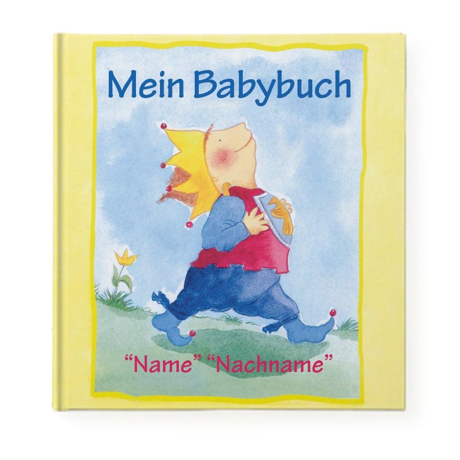 Buch mit Namen - Mein Babybuch
