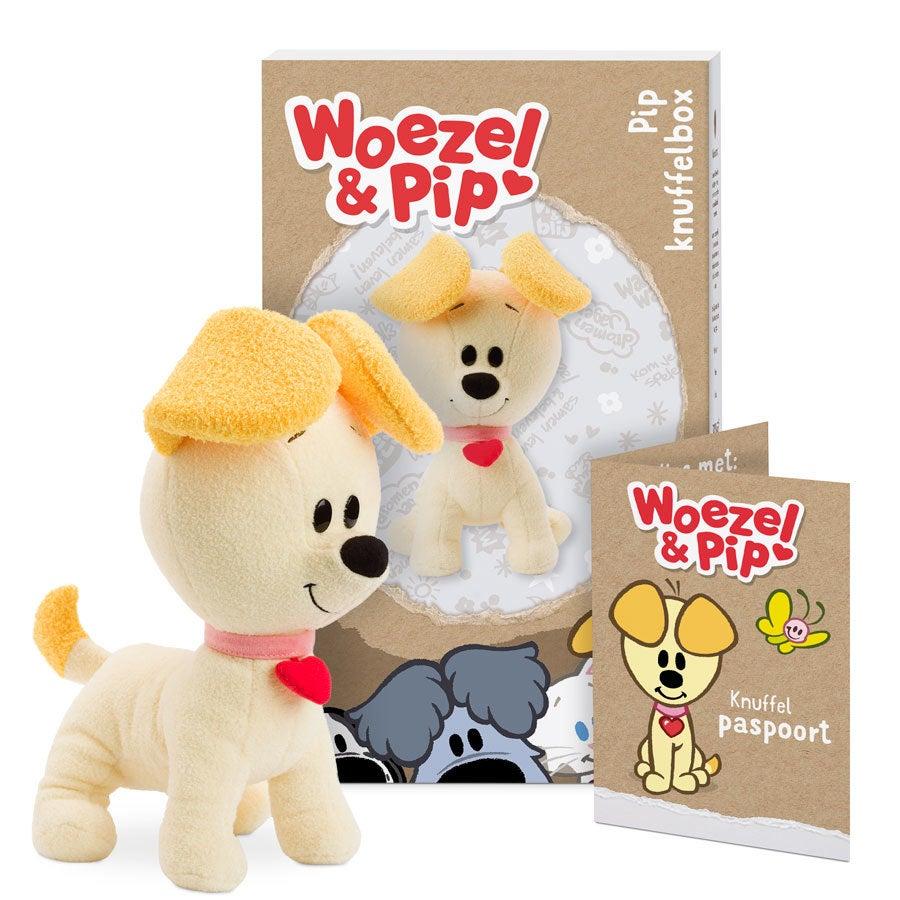 Persoonlijke Woezel & Pip knuffelbox - Pip