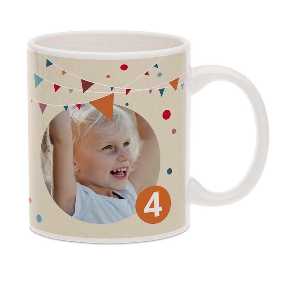 Tasse mit Foto - Geburtstag