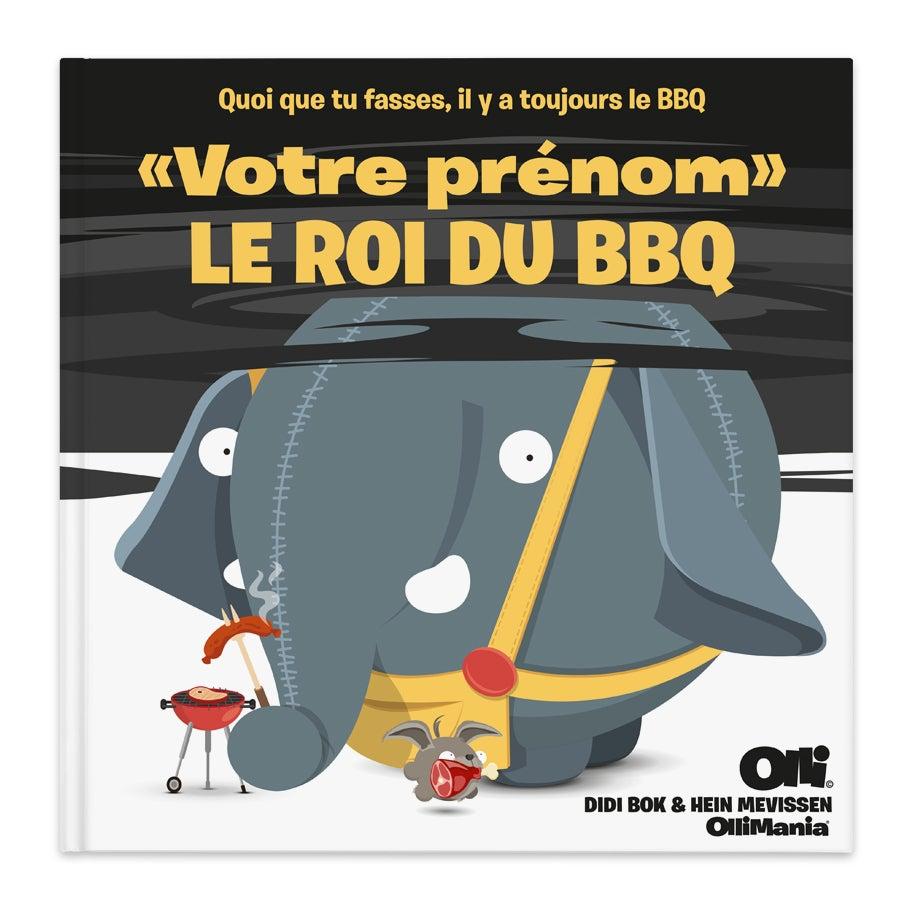 Livre personnalisé Olli Le Roi du BBQ