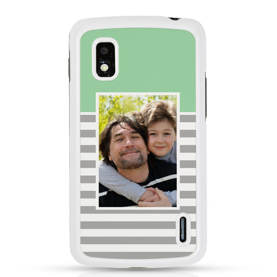 Google Nexus 4 - valokuvakehys valkoinen