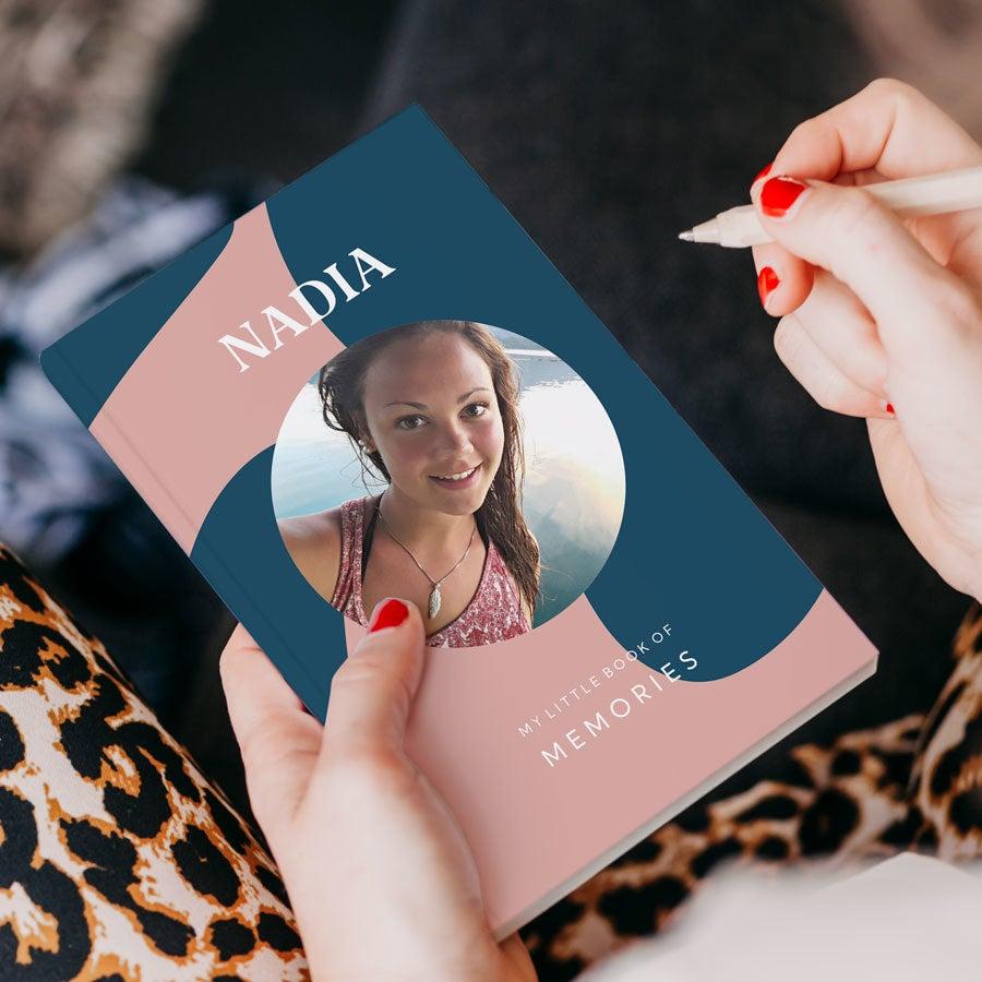 Carnet de notes personnalisé - couverture souple