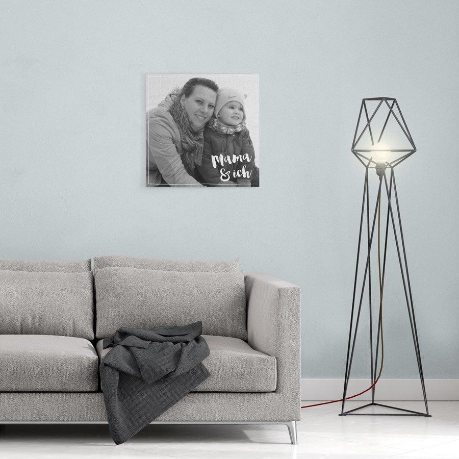 Leinwand bedrucken Muttertag - 40x40 cm