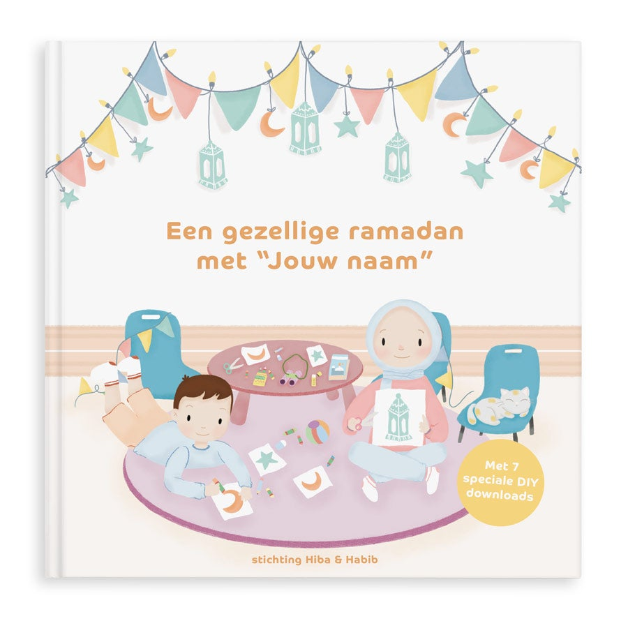 """Een gezellige ramadan met """"jouw naam"""" - Softcover"""