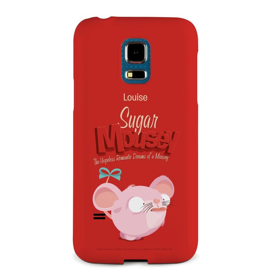 Capa de celular Sugar Mousey - Samsung Galaxy S5 mini - impressão 3D