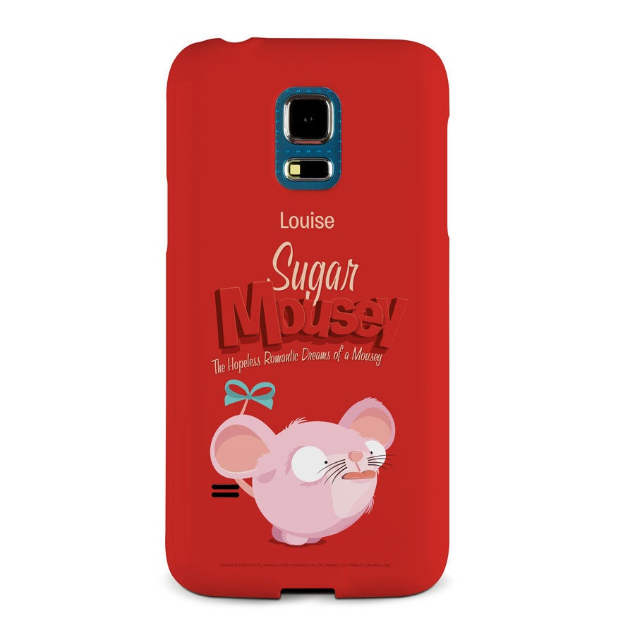 Sugar Mousey phone case - Samsung Galaxy S5 mini - 3D print
