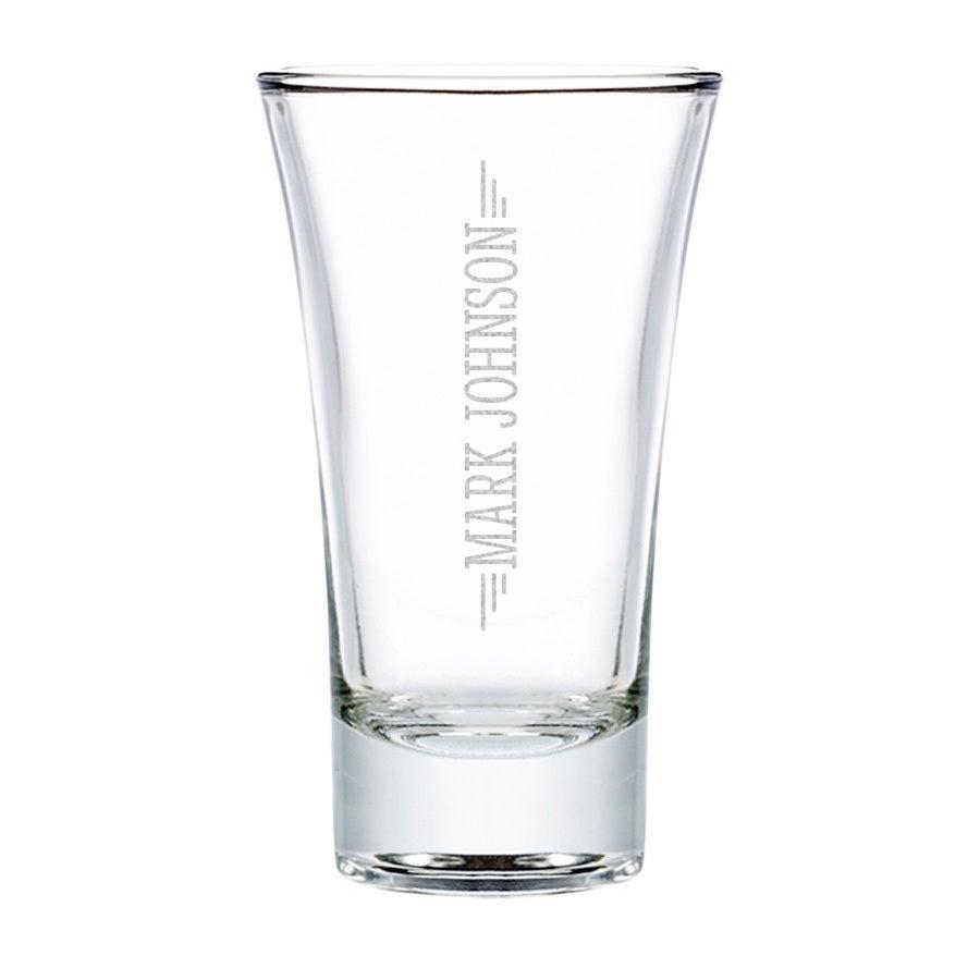 Personliga snapsglas