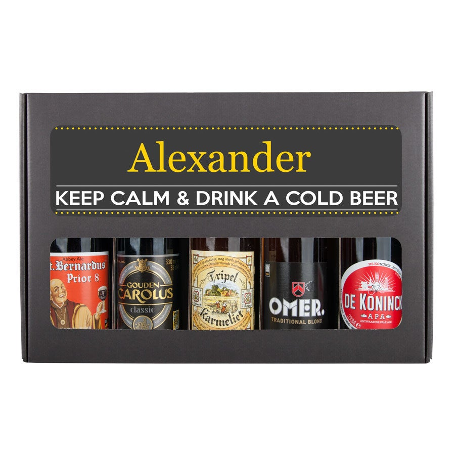 Pack de cerveza personalizada - Bélgica