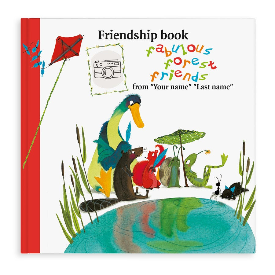 Friendship book Super friends - Softcover