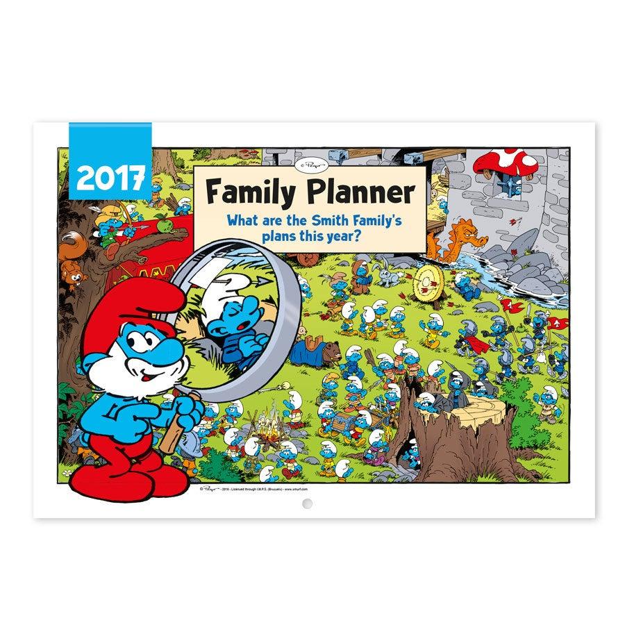 Smurfs family planner