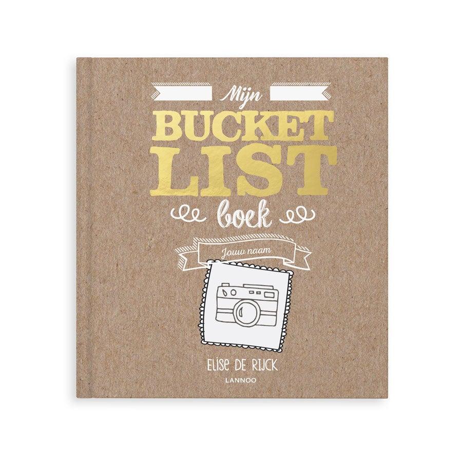 Mijn Bucketlist boek maken (Hardcover)