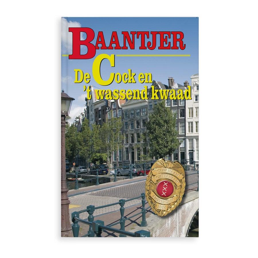 Baantjer boek met naam - Het wassend kwaad - Softcover