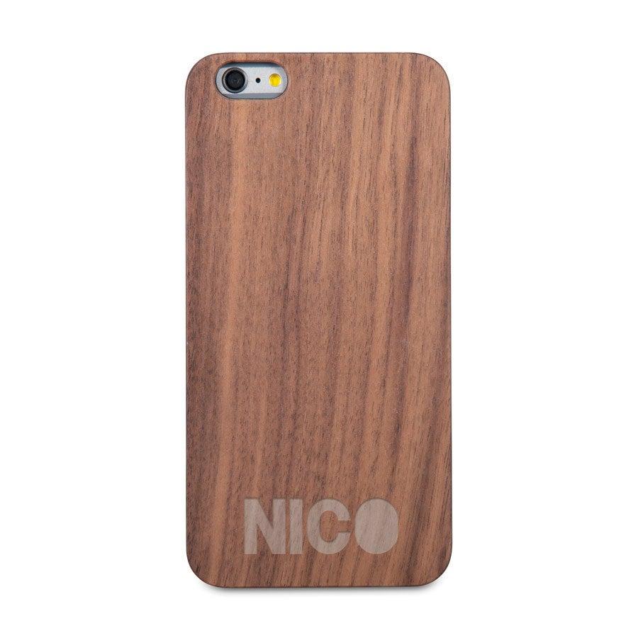 Handyhülle Holz mit Gravur - iPhone 6 plus
