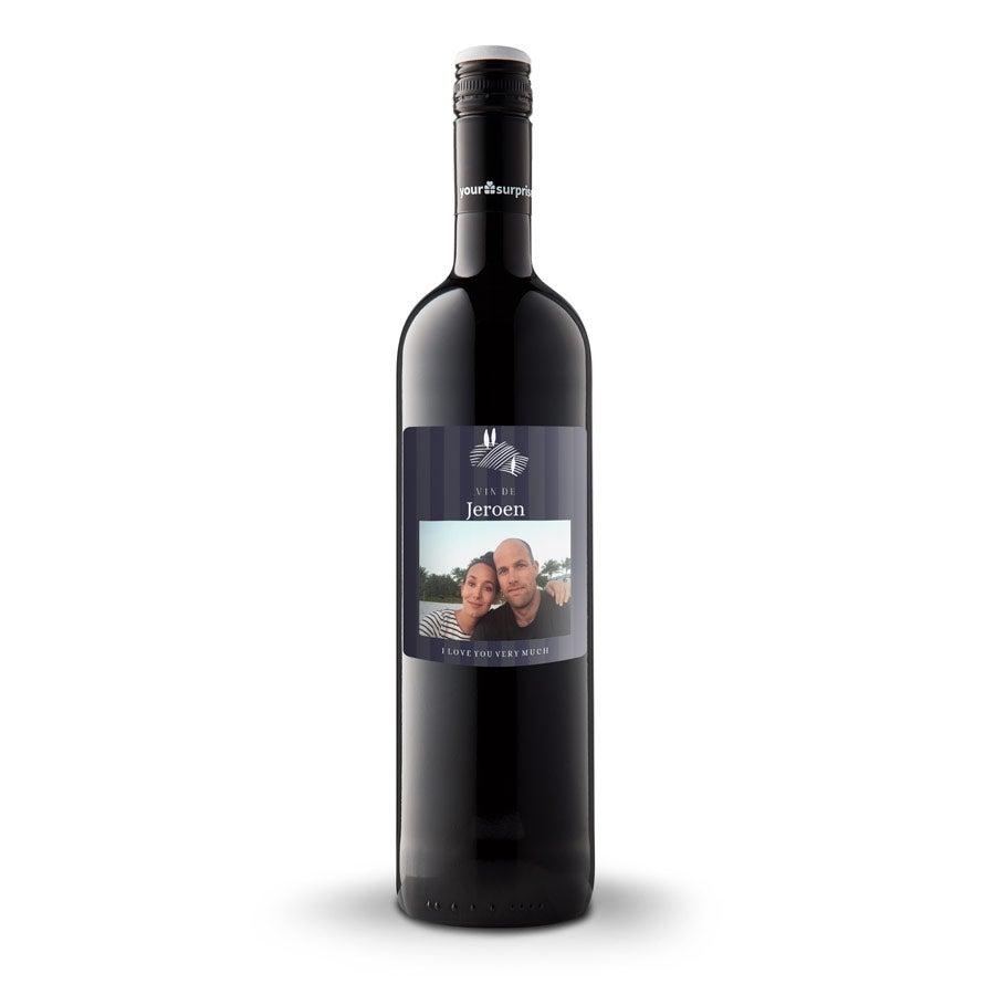 Wijn met bedrukt etiket - Maison de la Surprise - Cabernet Sauvignon