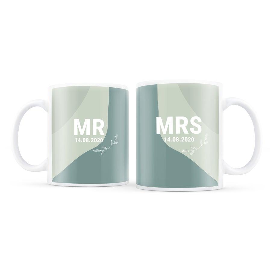 Lot de mugs - Saint Valentin