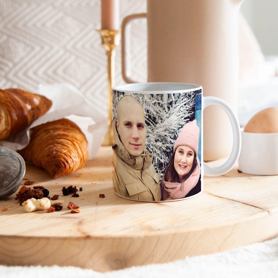 Romantyczny kubek ze zdjęciem