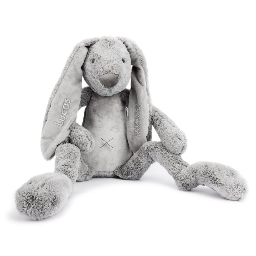 Personalised Giant Rabbit Richie - Grey