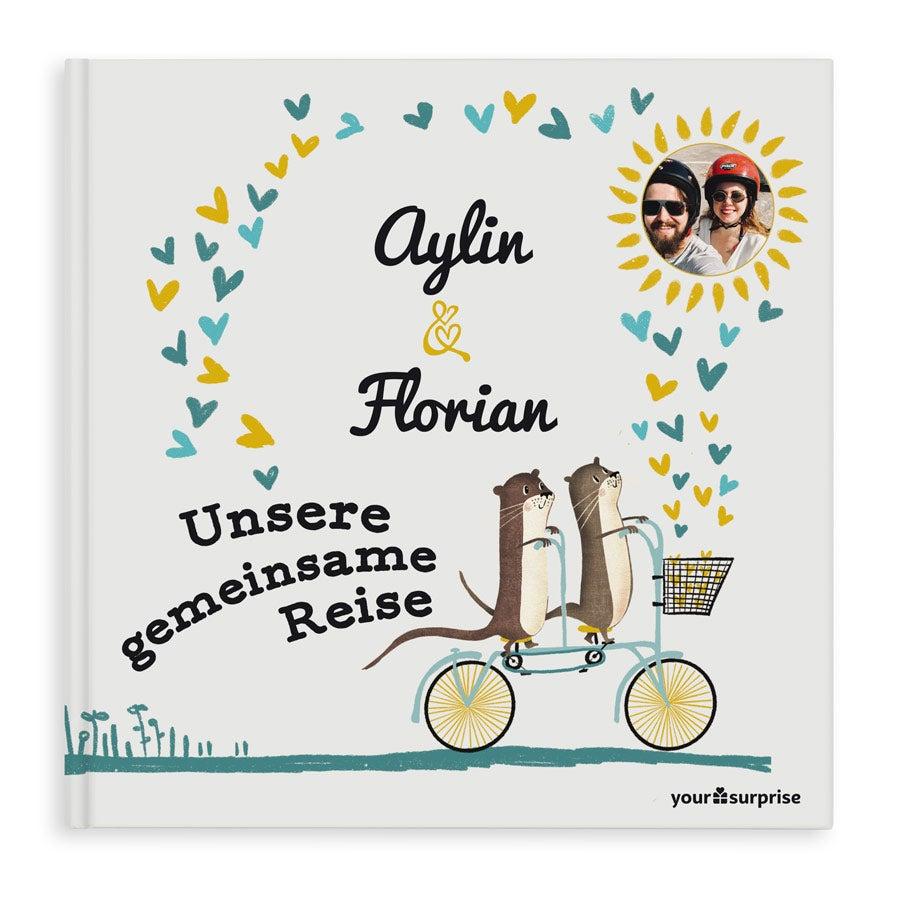 Personalisiertes Buch - Unsere gemeinsame Reise - Hardcover