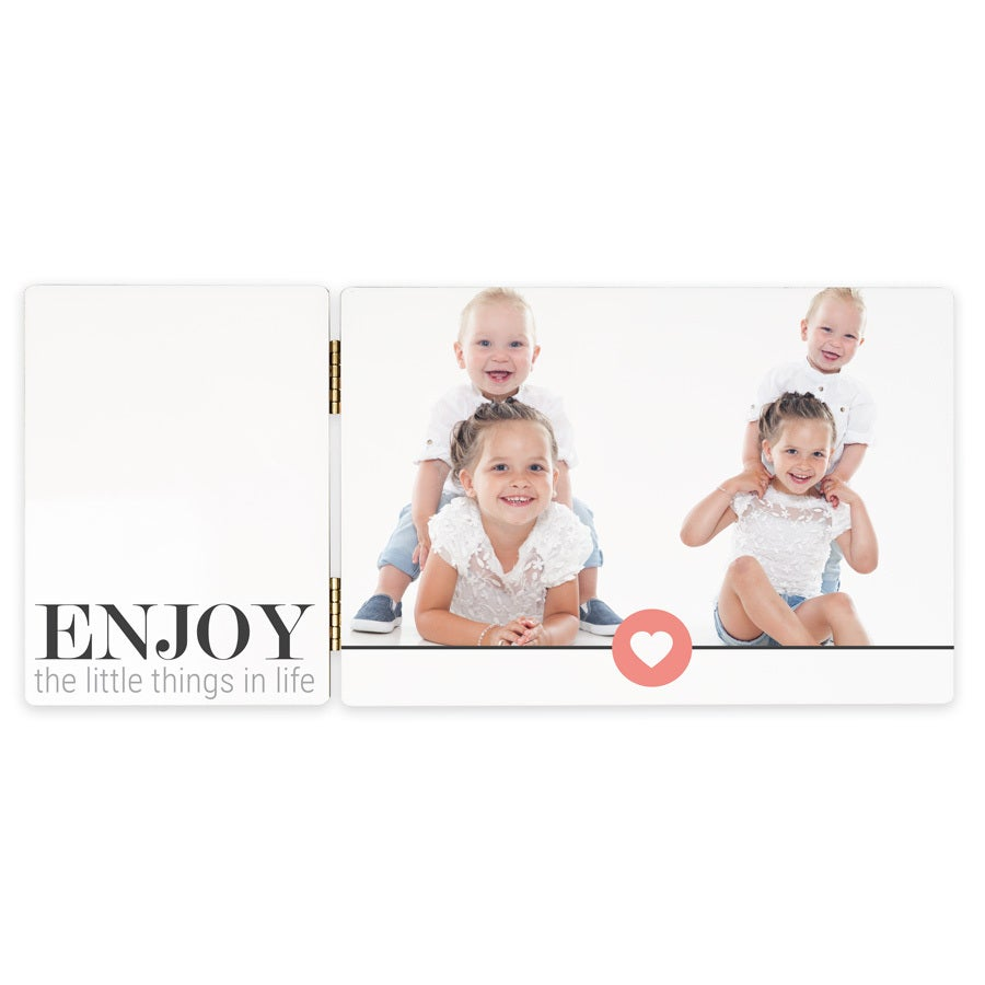 Hinged photo frame – Rectangular