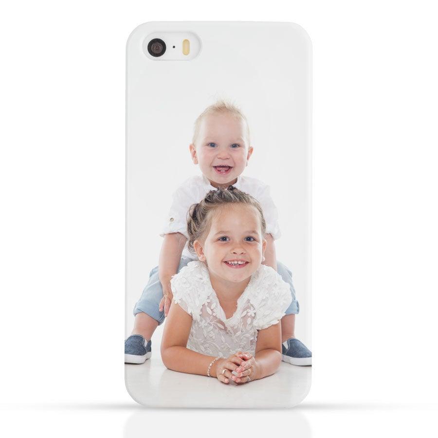 Telefon tok - iPhone SE - Fotónyomtatás 3D nyomtatás
