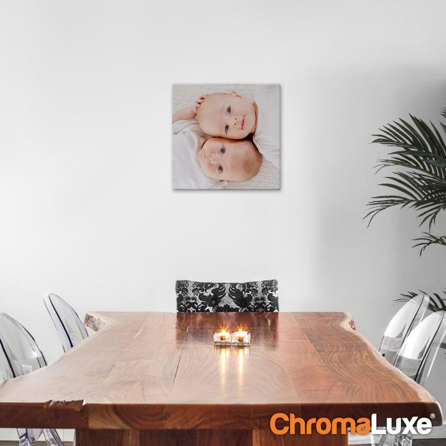 ChromaLuxe-valokuvapaneeli (30x30 cm)