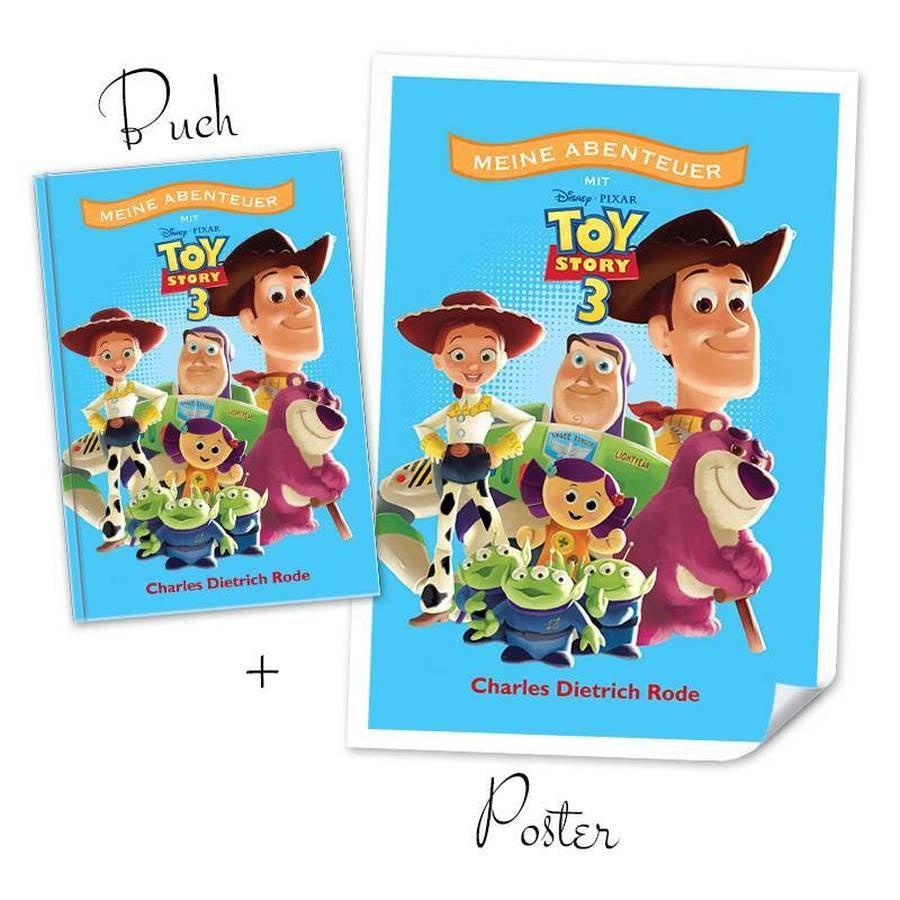 Disney XXL book - Toy Story 3 + Poster