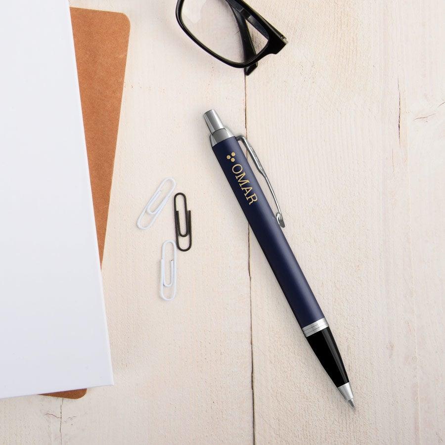 Individuellbesonders - Parker IM Kugelschreiber Linkshänder (Blau) - Onlineshop YourSurprise