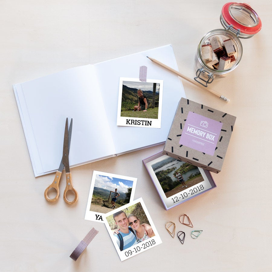 Polaroid Bilder - Geschenkbox