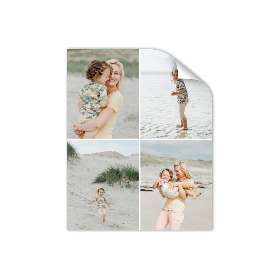 "Póster de fotos ""Mamá y yo"" - 40 x 50 cm"
