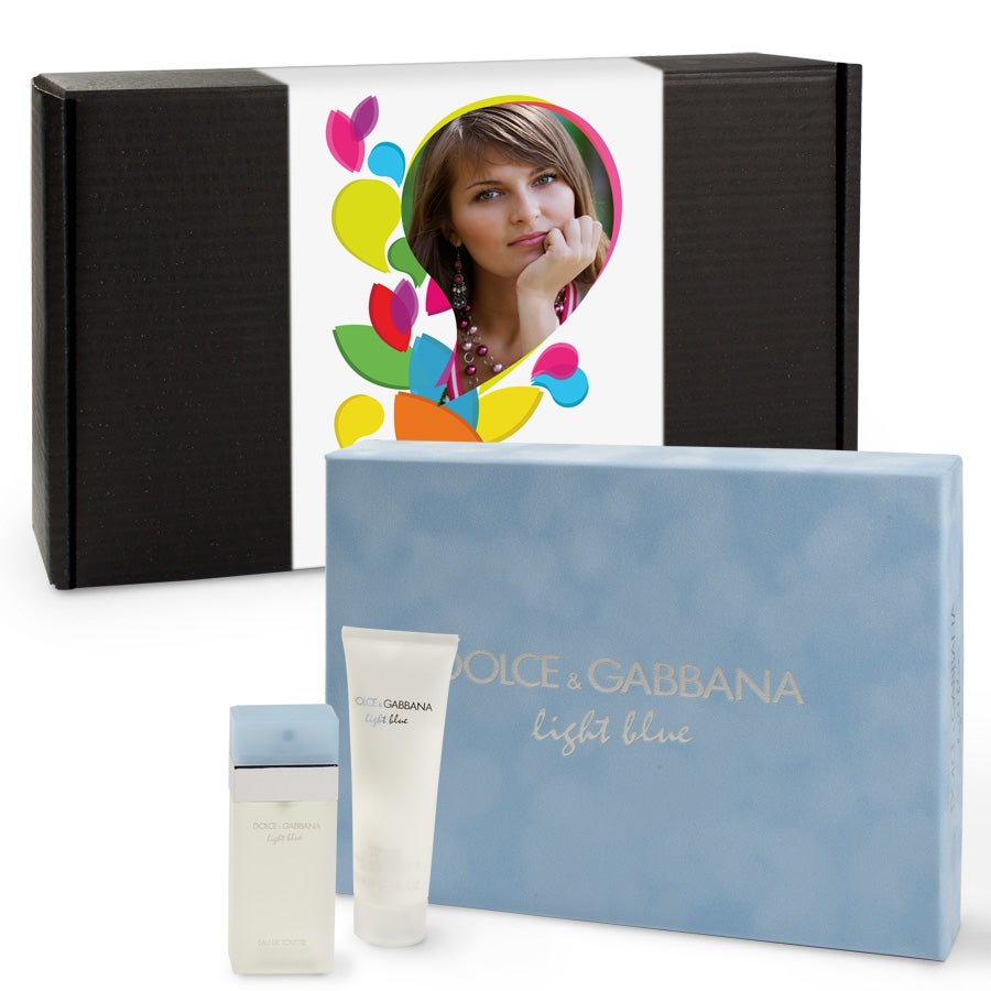 Gift set - Dolce et Gabbana light blue