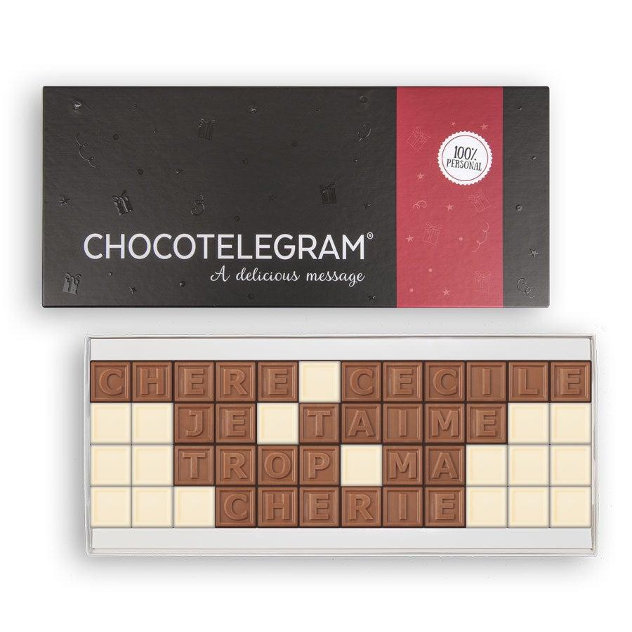Chocotelegram - Coffret 48 caractères